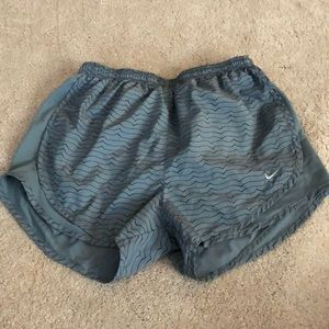 Used athletic shorts.
